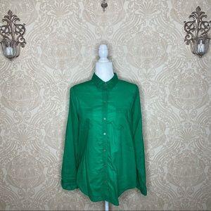 Old Navy Semi Sheer Button Down Shirt